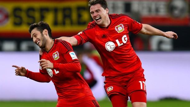 Leverkusen ist die Macht am Rhein