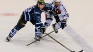 Wollen sich auch in den Playoffs behaupten: Adam Mitchell (r.) und die Hamburg Freezers