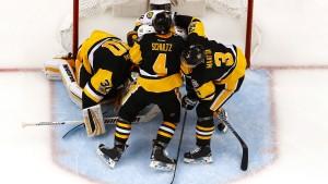 Penguins auf dem Weg zur Titelverteidigung