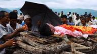 Abschied von einem Gastarbeiter: Bahadur Danuwar wird in der Nähe seines Heimatortes bestattet.