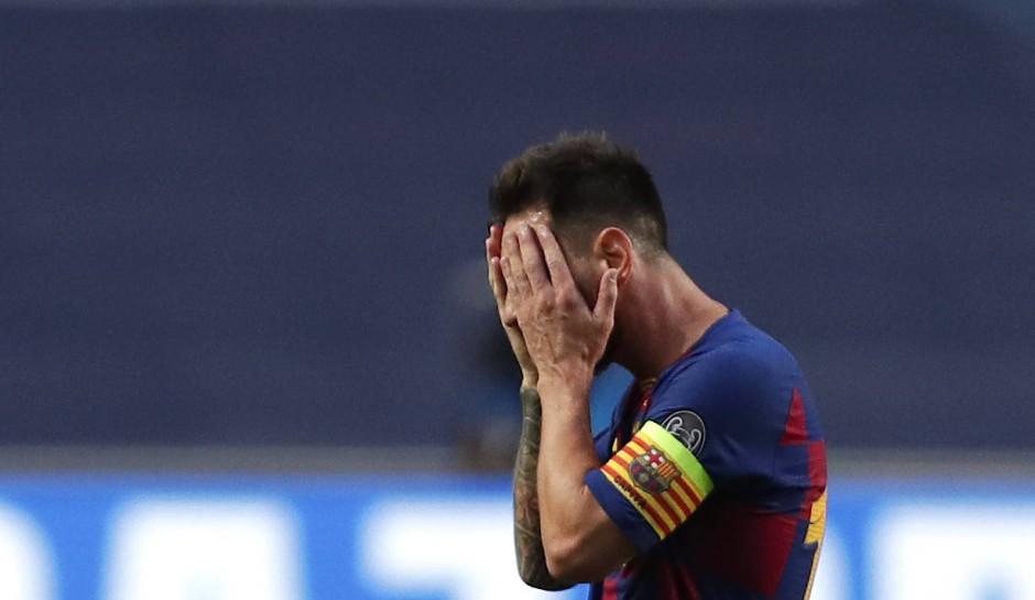 Die maximale Demütigung erlebt: Lionel Messi.