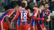 Die Bayern gewinnen schmucklos, aber sicher