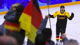 Eishockey-Spieler Ehrhoff wird Fahnenträger