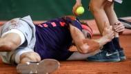 Es lief nicht alles nach Wunsch im Viertelfinale für Alexander Zverev.