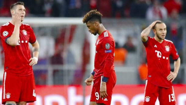 Die lange Fehlerkette des FC Bayern