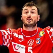 Daumen hoch: Nun will Domagoj Duvnjak mit Kroatien auch das Endspiel der EM gewinnen.