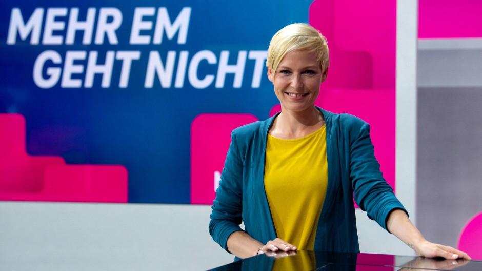 Eines der Gesichter der EM-Übertragungen bei MagentaTV: Anett Sattler