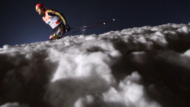 Ich reise immer mit 40 Paar Skiern