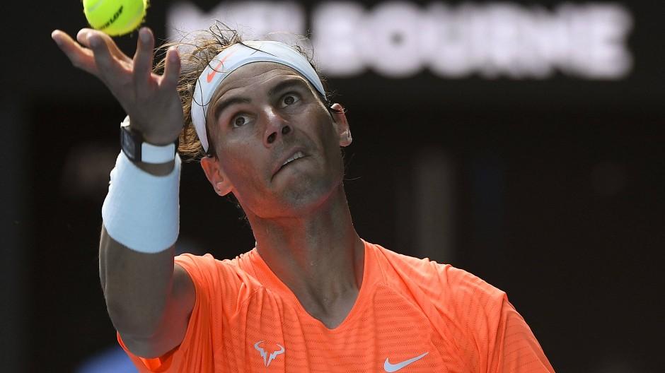 Eiskalt: Rafael Nadal bei den Australian Open