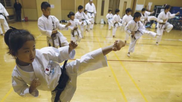 Karate ist auf dem Weg zur sozialen Nummer eins