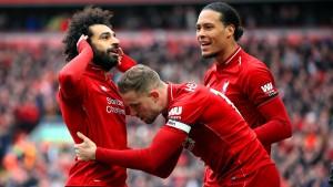 Liverpool und Manchester City im Gleichschritt