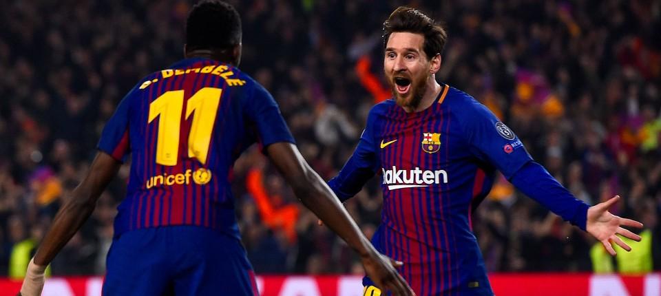Zwei Beinschüsse von Lionel Messi bei Barcelonas 3 0 gegen Chelsea cfbed882c54