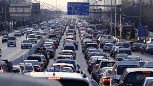 Chinas Automarkt wächst rasant
