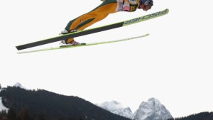 FIS Ski Jumping World Cup - Garmisch-Partenkirchen Day 2