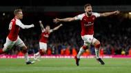 Furioses Torfestival mit Arsenal