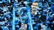 Strahlemann in London: Andy Murray gewinnt die Tennis-WM.