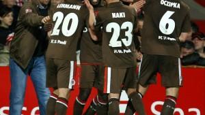 St. Pauli erobert den zweiten Platz