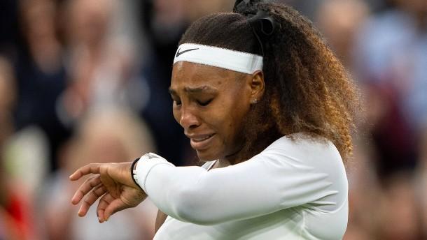 Tränen bei Serena Williams – Zverev und Kerber weiter