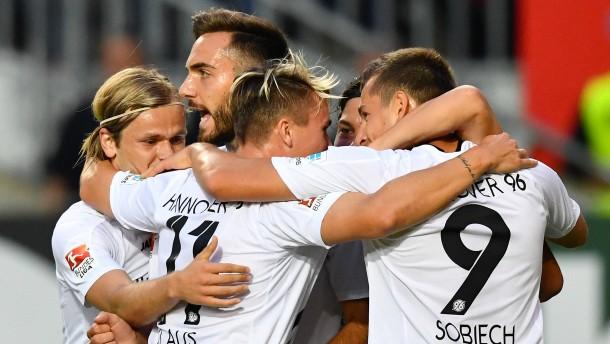 Traumstart für Hannover 96