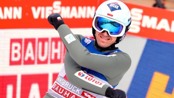 Kamil Stoch ist der Stolz Polens