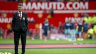 """Bei der WM war er mit Holland noch """"King Louis"""". Nun kämpft Louis van Gaal mit Manchester United um den Anschluss."""