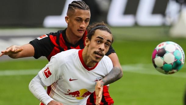 Leipzig frustriert, Eintracht eiskalt