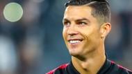 Fußballstar Cristiano Ronaldo hilft in der Corona-Krise.