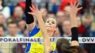 Louisa Lippmann zeigte eine starke Leistung, verlor aber mit Schwerin.