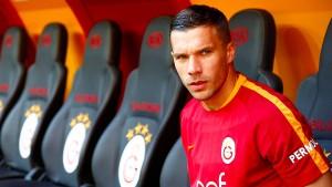 Schwere Zeiten für Galatasaray und Podolski