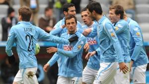 Augsburg festigt Platz drei - 1860 besiegt Aachen