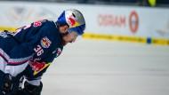 Ratlos: EHC-Spieler Yannik Seidenberg