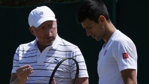 Djokovic trennt sich von Boris Becker
