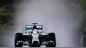 Nur Hamilton ist schneller als Vettel