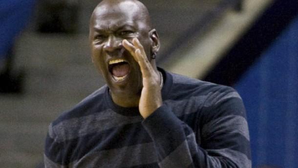 """""""Ich will, dass die Stadt erlebt, was Gewinnen heißt"""": Michael Jordan in Charlotte"""