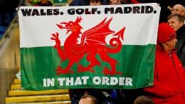 Real-Star verärgert seinen Klub mit Wales-Fahne