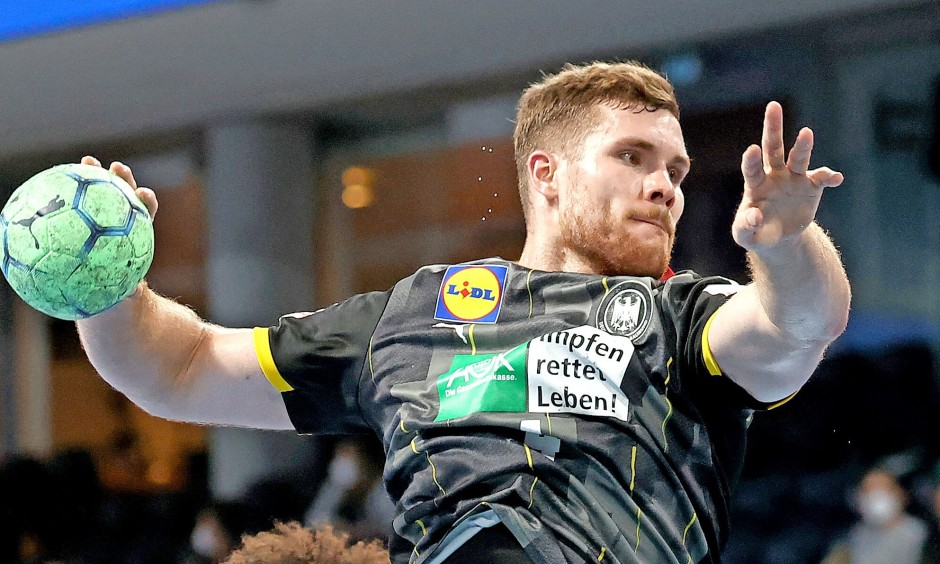 Handball: Johannes Golla, 23 Jahre
