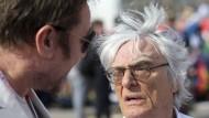 Unter Druck: Chefvermarkter Bernie Ecclestone fürchtet um sein Lebenswerk.
