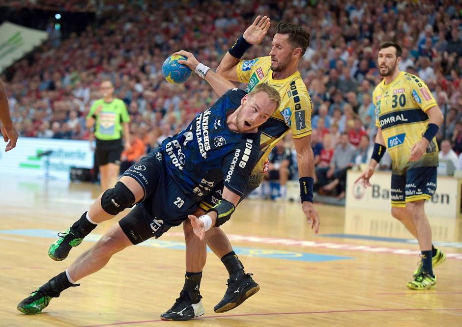 Schöner Handball: Wenn die Löwen gegen Flensburg spielen, ist attraktiver Sport zu erwarten
