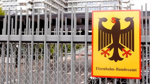 Schild Eisenbahn-Bundesamt in Bonn