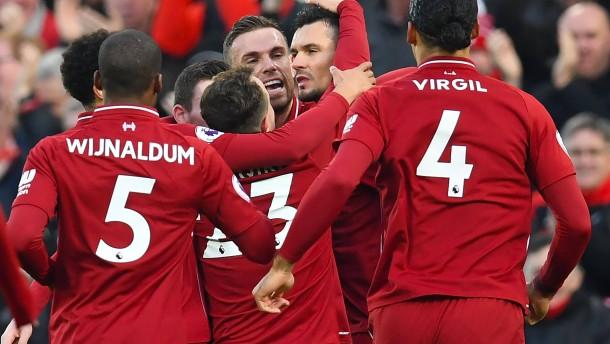 Doppelter Festtag für Liverpool