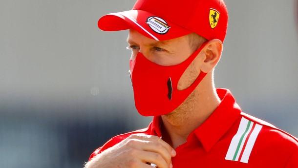 Vettel giftet offen gegen Ferrari