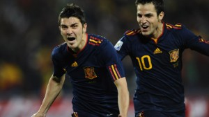 Villas Billard-Tor bringt Spanien ins Halbfinale