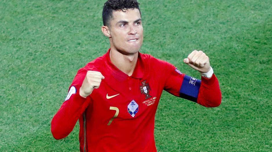 Cristiano Ronaldo trifft und trifft und trifft.