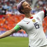 Glänzte bei der WM als Spielerin: Megan Rapinoe