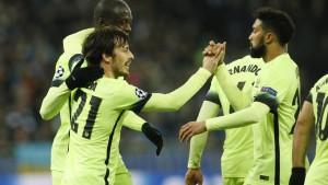City siegreich - Atlético torlos