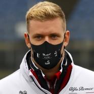Muss sich noch gedulden: Das erste Formel-1-Training von Mick Schumacher fällt ins Wasser.