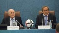 Lebenslang für Blatter und Platini?
