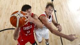 Serbien zieht ins Finale ein