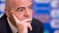 Uefa untersucht Infantinos Kosten nicht