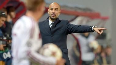 Schon wieder auf der Überholspur: Trainer Pep Guardiola und seine Bayern.